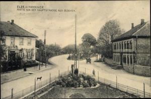 Ak Elze Niedersachsen, Ortspartie von der Hauptstraße