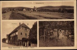 Ak Gronau an der Leine in Niedersachsen, Haus Escherde, Forsthaus