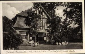 Ak Neuwarmbüchen Isernhagen Niedersachsen, Gasthaus Niedersachsen