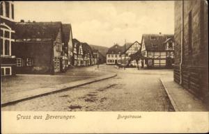 Ak Beverungen an der Weser, Burgstraße