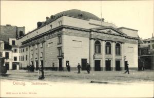 Ak Gdańsk Danzig, Stadttheater