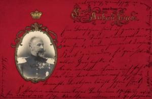Präge Gold Ak Leopold Friedrich I. Franz Nikolaus von Anhalt