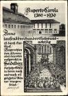 Studentika Ak Heidelberg am Neckar, Ruperto Carola, 550 Jahre, historische Ansicht