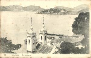 Ak Rio de Janeiro Brasilien, Santa Luzia