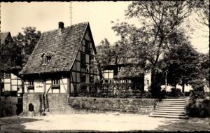 Ak Quedlinburg, HO Gaststätte Schloßkrug am Dom, Außenansicht