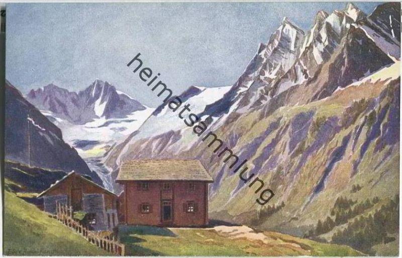 Alpengasthaus Zum Steinbock - Künstlerkarte Edo von Handel-Mazzetti