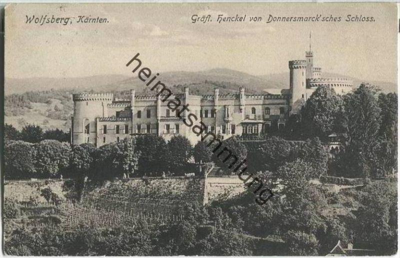 Wolfsberg - Gräfl. Henckel von Donnersmarcksches Schloss