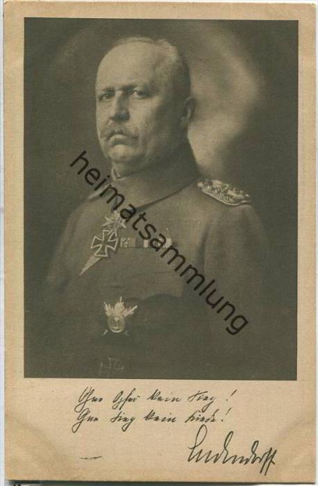 Ludendorff - Ludendorff-Spende für Kriegsbeschädigte