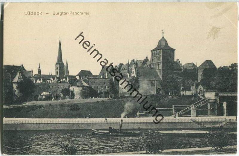 Lübeck - Burgtor - Panorama