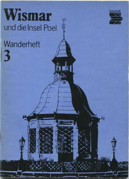 Wanderheft - Wismar Insel Poel 1981 - 72 Seiten mit 4 Abbildungen und 2 Karten - Heft Nr. 3 - VEB F. A. Brockhaus Verlag