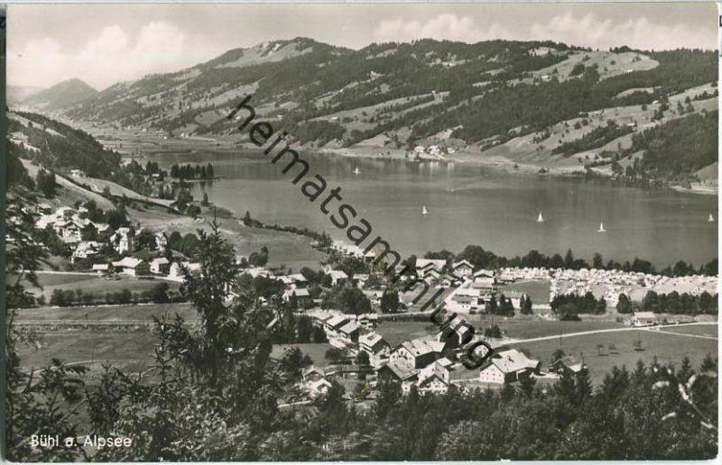 Bühl am Alpsee- Foto-AK