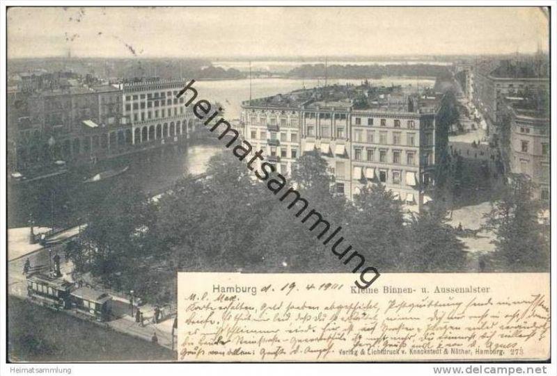 Hamburg - Kleine Binnen- und Aussenalster