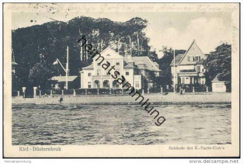 Kiel - Düsternbrok - Gebäude des Kieler-Yacht-Club´s