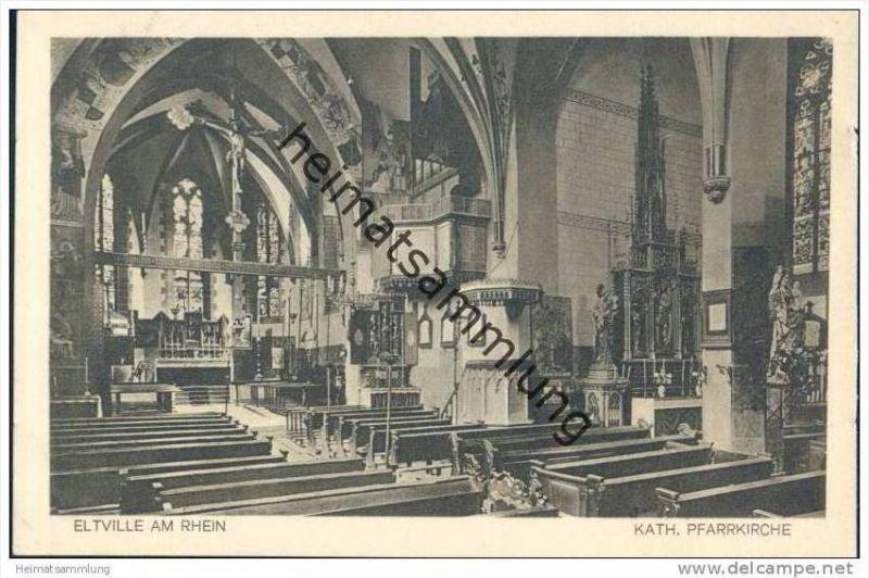 Eltville - Katholische Pfarrkirche - Innenansicht