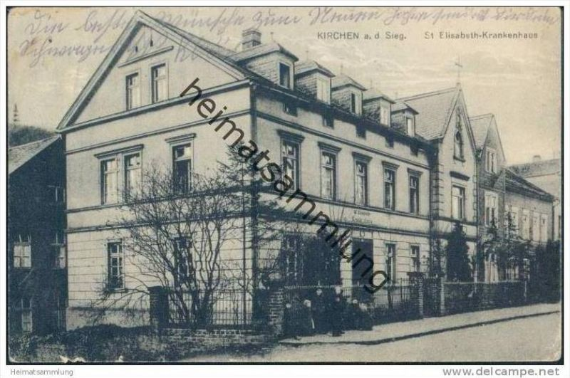 Kirchen an der Sieg - St. Elisabeth-Krankenhaus - Feldpost