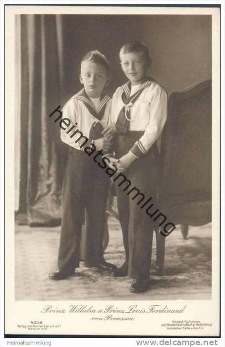 Prinz Wilhelm und Prinz Louis Ferdinand von Preussen
