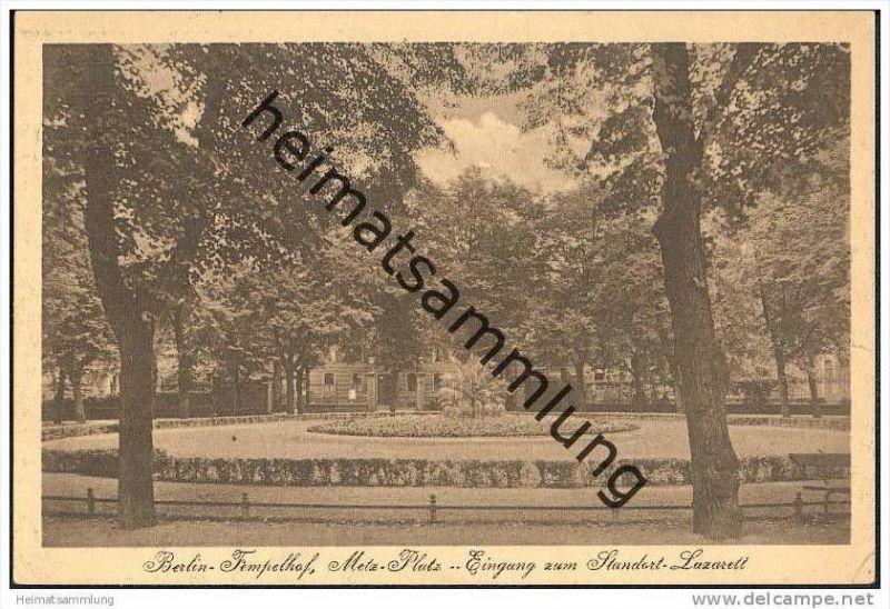 Berlin-Tempelhof - Metz-Platz - Eingang zum Standort Lazarett