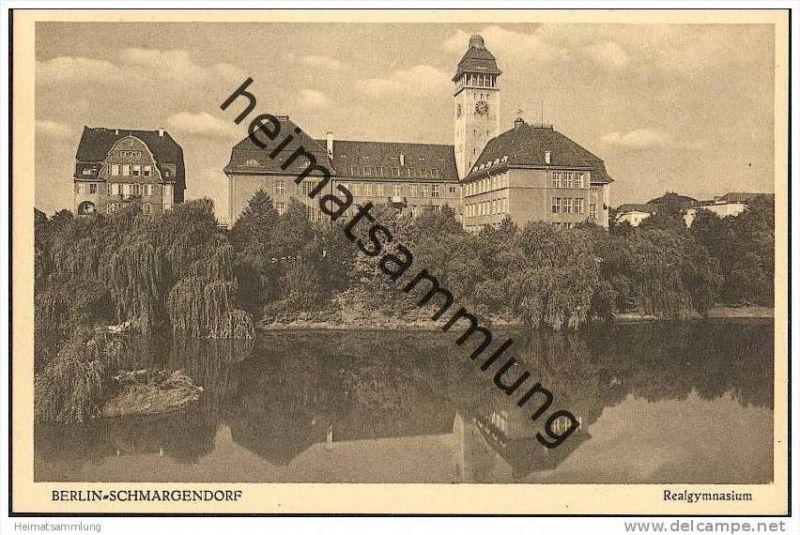 Berlin-Schmargendorf - Realgymnasium