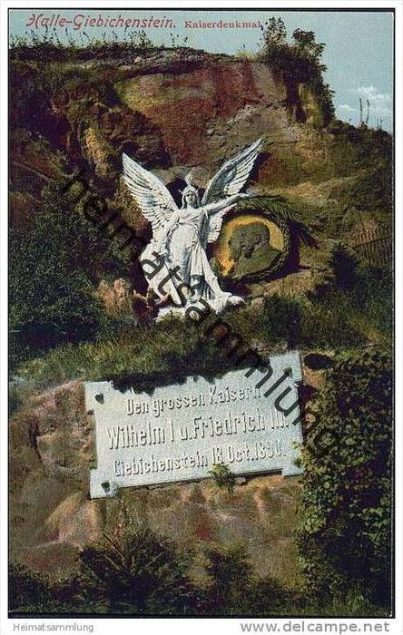 Halle - Giebichenstein - Kaiserdenkmal
