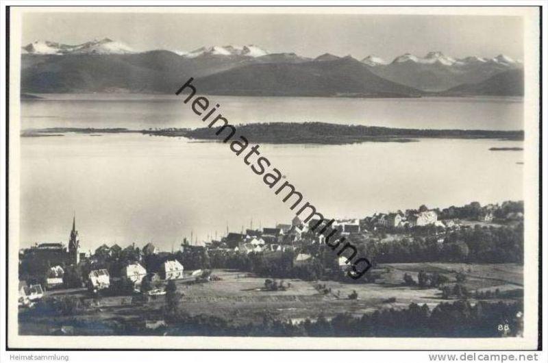 Molde - Gesamtansicht - Foto-AK 20er Jahre