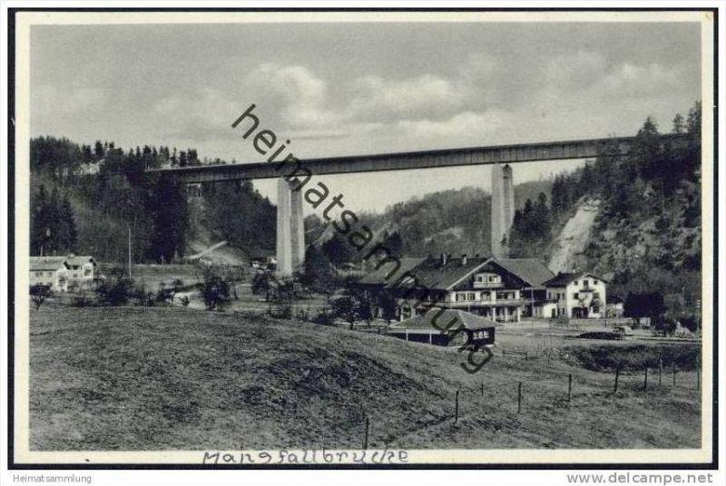 Mangfallbrücke der Reichsautobahn München-Landesgrenze