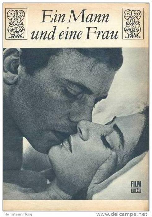 Film für Sie Progress-Filmprogramm 51/68 - Ein Mann und eine Frau