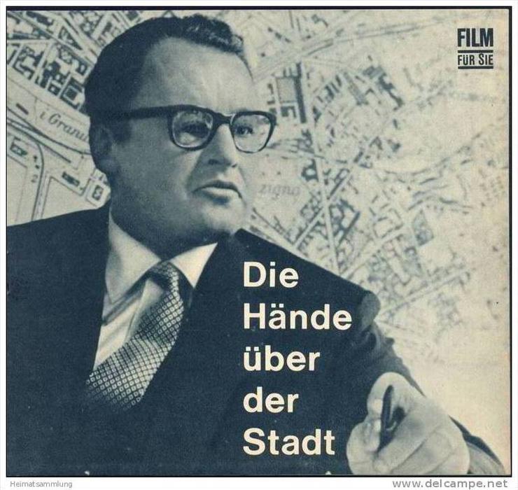 Film für Sie Progress-Filmprogramm 4/67 - Die Hände über der Stadt