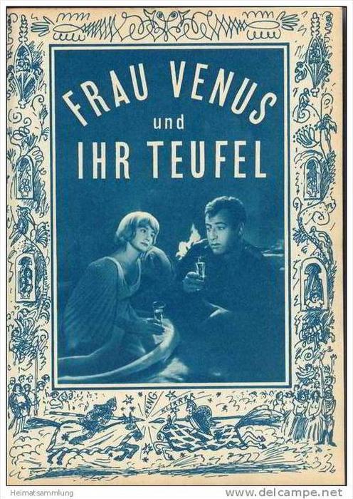 Film für Sie Progress-Filmprogramm 54/67 - Frau Venus und ihr Teufel