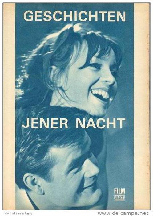 Film für Sie Progress-Filmprogramm 59/67 - Geschichten jener Nacht