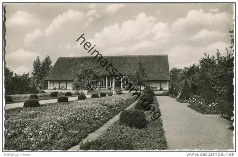 berlin tiergarten englischer garten foto ak 50er jahre nr 320535919 oldthing. Black Bedroom Furniture Sets. Home Design Ideas