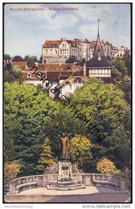 Bad Wörishofen - Kneipp-Denkmal