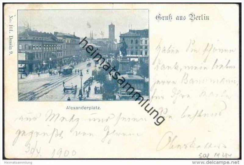 Gruss aus Berlin - Alexanderplatz