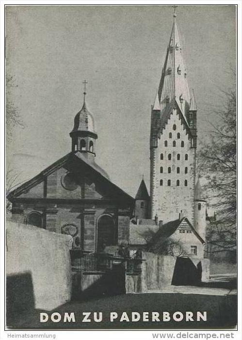 Dom zu Paderborn - Grosse Baudenkmäler - Heft 112 - 1948 - Deutscher Kunstverlag Berlin