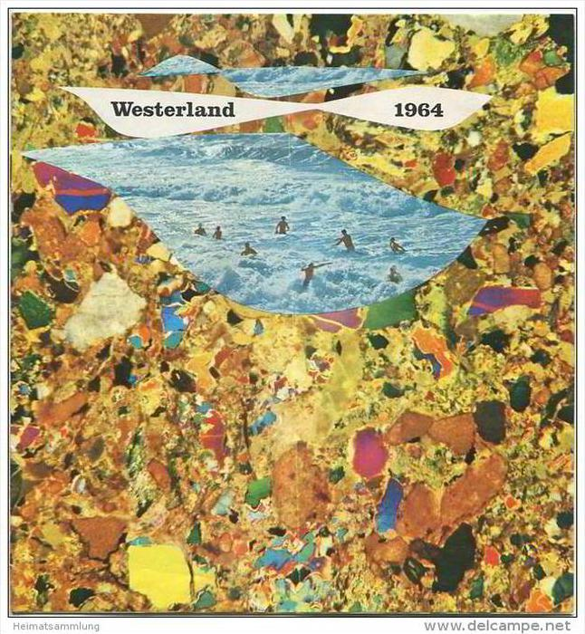 Westerland 1964 - Sylt - 12 Seiten mit 25 Abbildungen - 32 Seiten Westerland Information