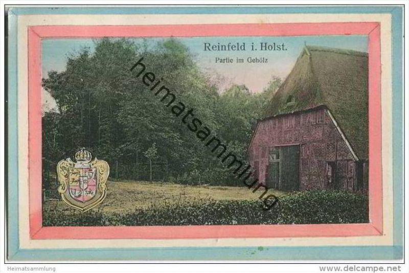 Reinfeld - Partie im Gehölz - Wappen