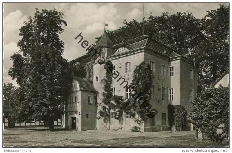 Berlin-Grunewald - Jagdschloss - Foto-AK 50er Jahre