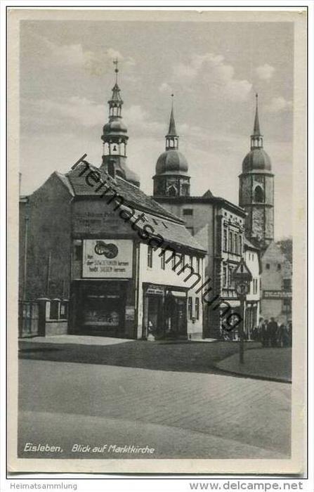 Lutherstadt Eisleben - Blick auf Marktkirche