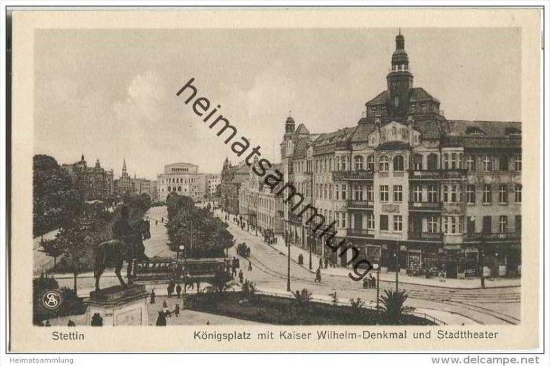 Szczecin - Stettin - Königsplatz