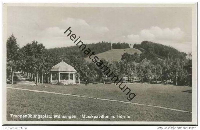 Münsingen - Truppenübungsplatz - Musikpavillon mit Hörnle