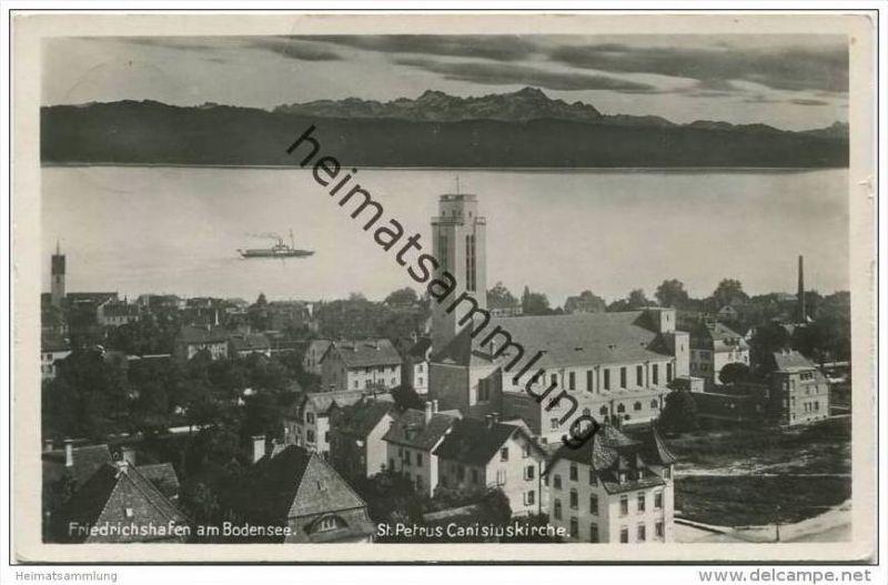 Friedrichshafen - St. Petrus Canisiuskirche - Foto-AK