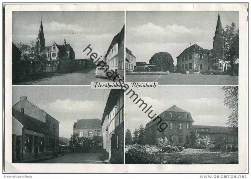 Rheinbach - Flerzheim - Strassenansichten