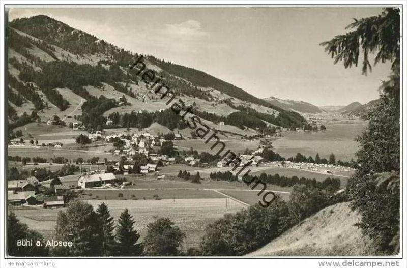 Immenstadt - Bühl am Alpsee - Foto-AK