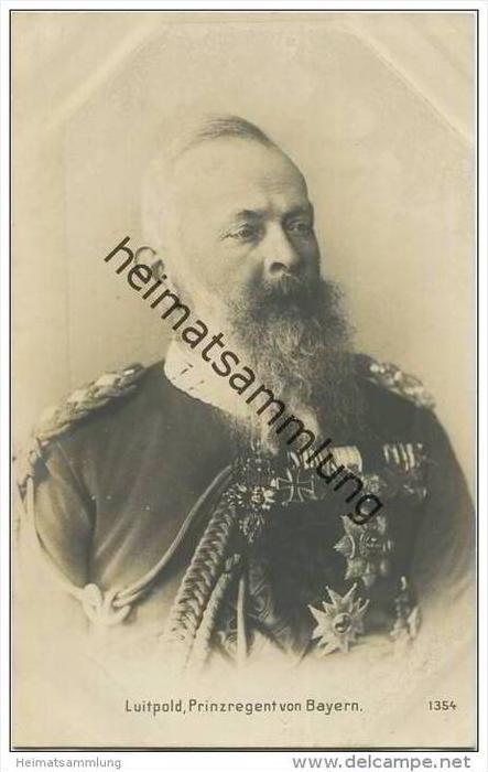 Königreich Bayern - Luitpold Prinzregent von Bayern