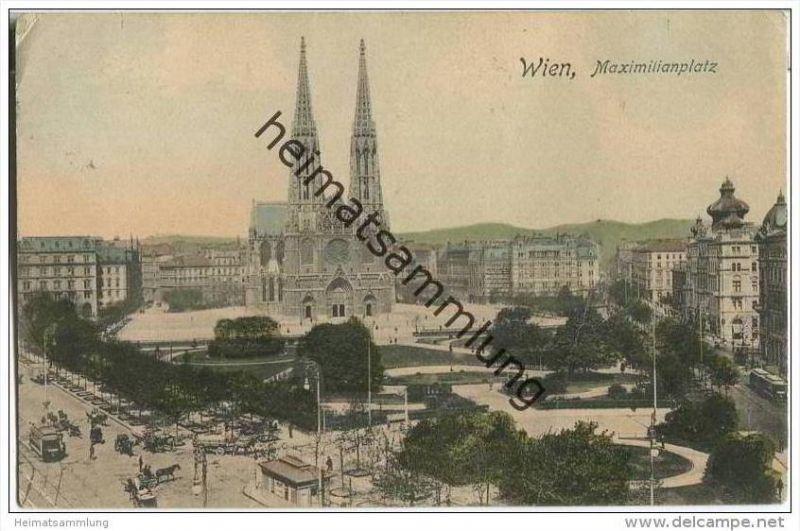Wien - Maximilianplatz