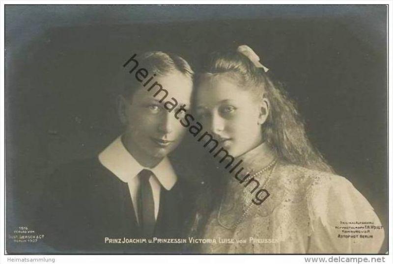 Prinz Joachim von Preussen und Prinzessin Victoria Luise von Preussen