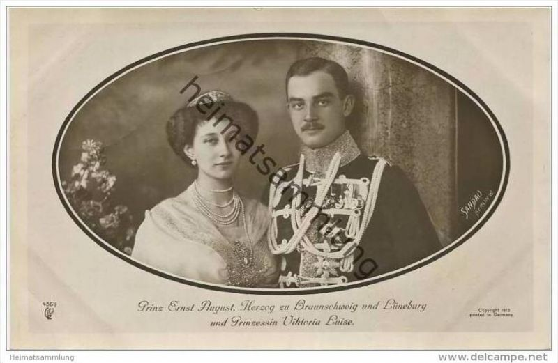 Prinz Ernst August Herzog zu Braunschweig und Lüneburg - Prinzessin Viktoria Luise