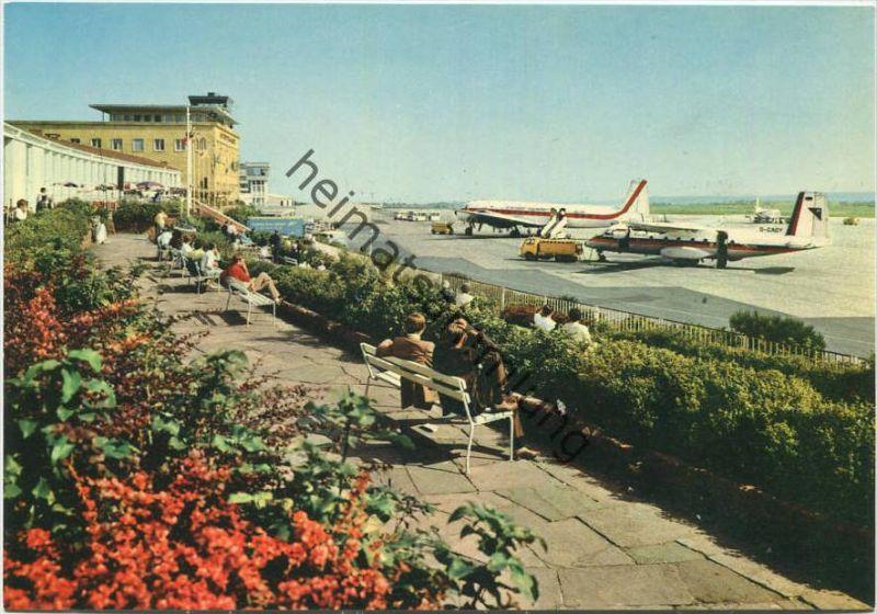 Stuttgart - Flughafen - Echterdingen - AK-Grossformat 1970 - Zobel-Verlag Stuttgart