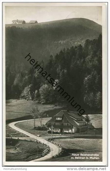 Belchen - Gasthaus Belchenhaus Eigentümer Jos. Steifvater - Foto-AK