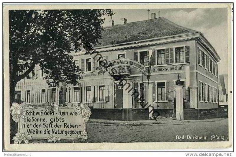 Bad Dürkheim - Wirtschaft der Winzergenossenschaft Inhaber Peter Stepp