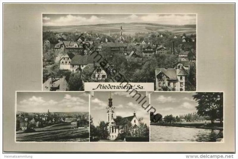 Niederwiesa - Foto-AK